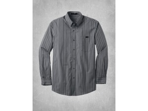 Men's Vertical Stripe Dress Shirt