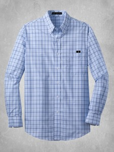 Crosshatch Plaid Shirt - Blue