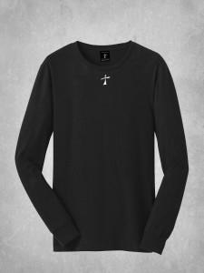 Long Sleeve Tee - Small Cross