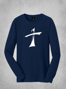 Long Sleeve Tee - Large Cross