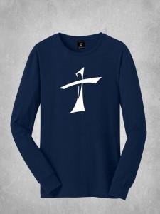 Long Sleeve Tee - Large Cross