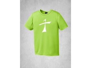 Youth Performance Tee Lg Cross