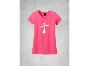 Girl's Large Cross Tee