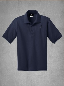 School Uniform Polo-Navy