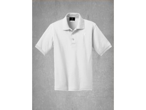 School Uniform Polo-White