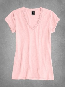 Juniors V-Neck Tee