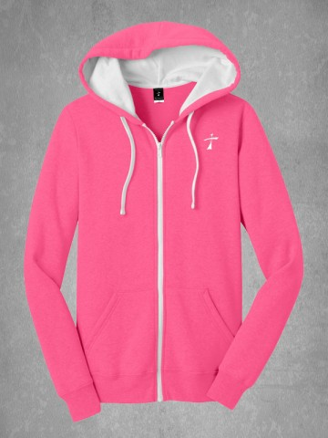 Juniors Fleece Full Zip Hoodie