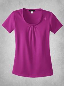 Ladies Scoop Neck Shirt