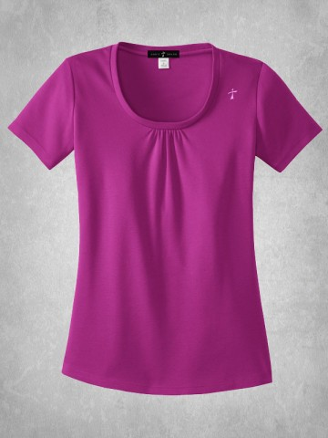 Ladies Scoop Neck Shirt